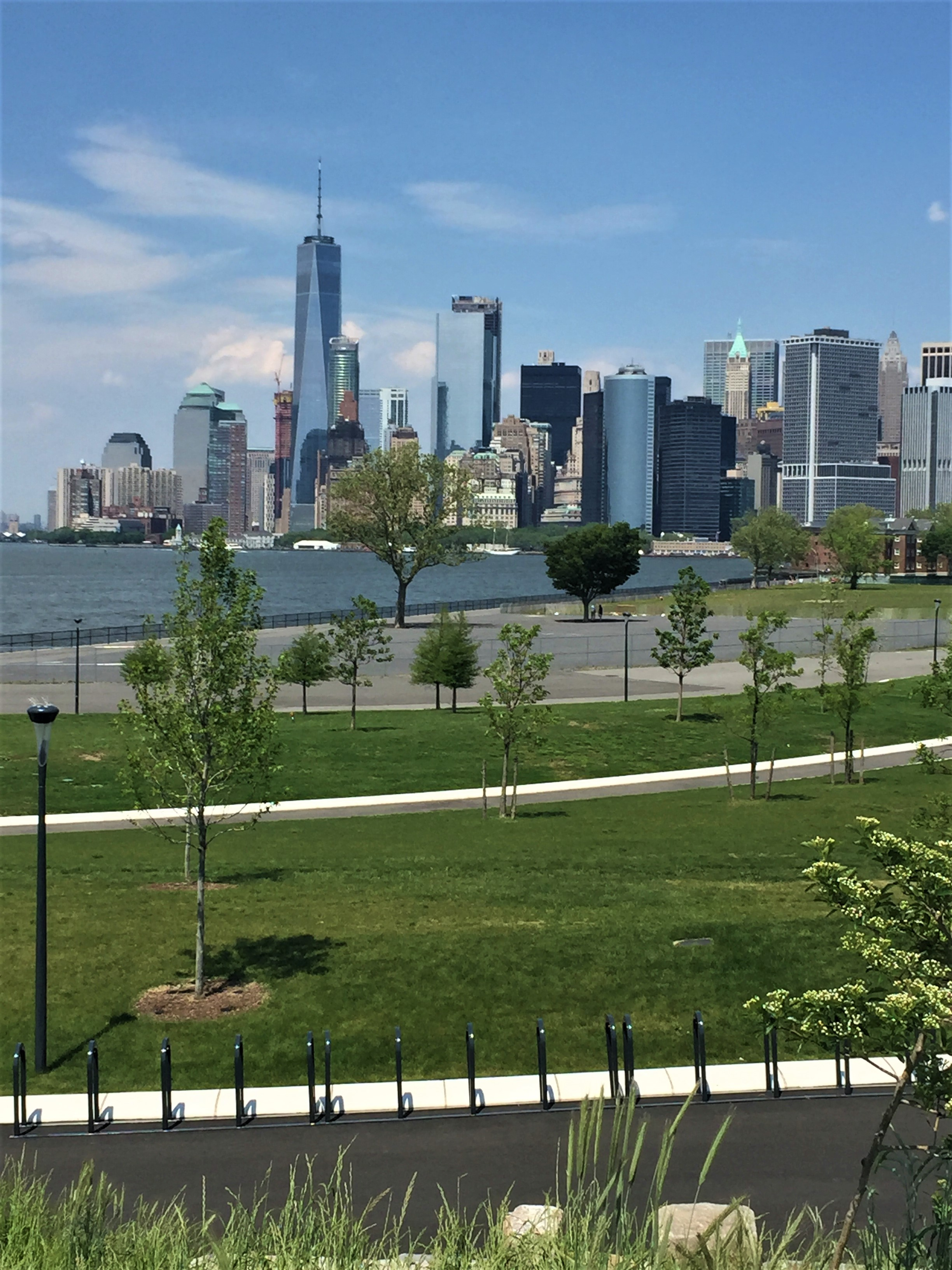 Gov. Island: Unique view of Manhattan