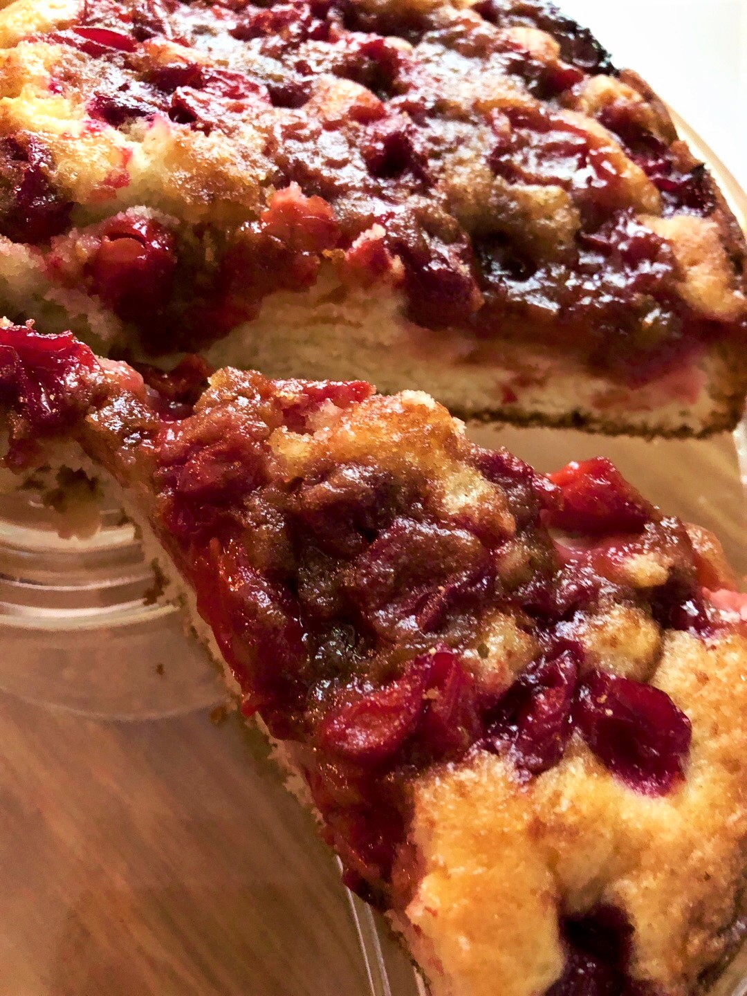 Sour Cherry Party Cake