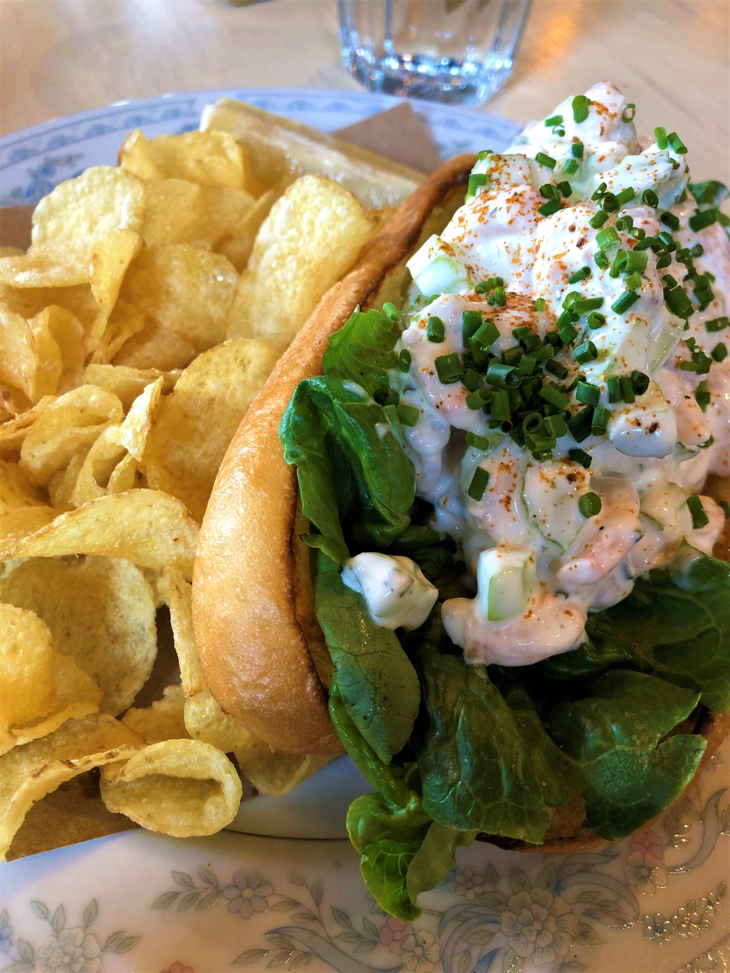 Midtown Brewery Shrimp Roll