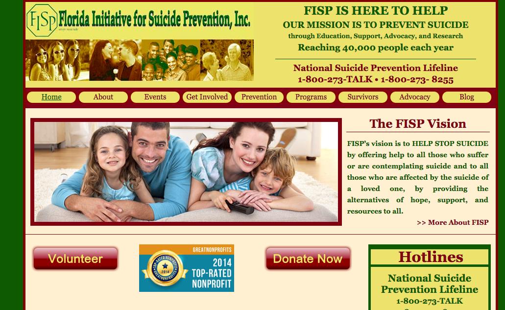 Before: Original Website Design