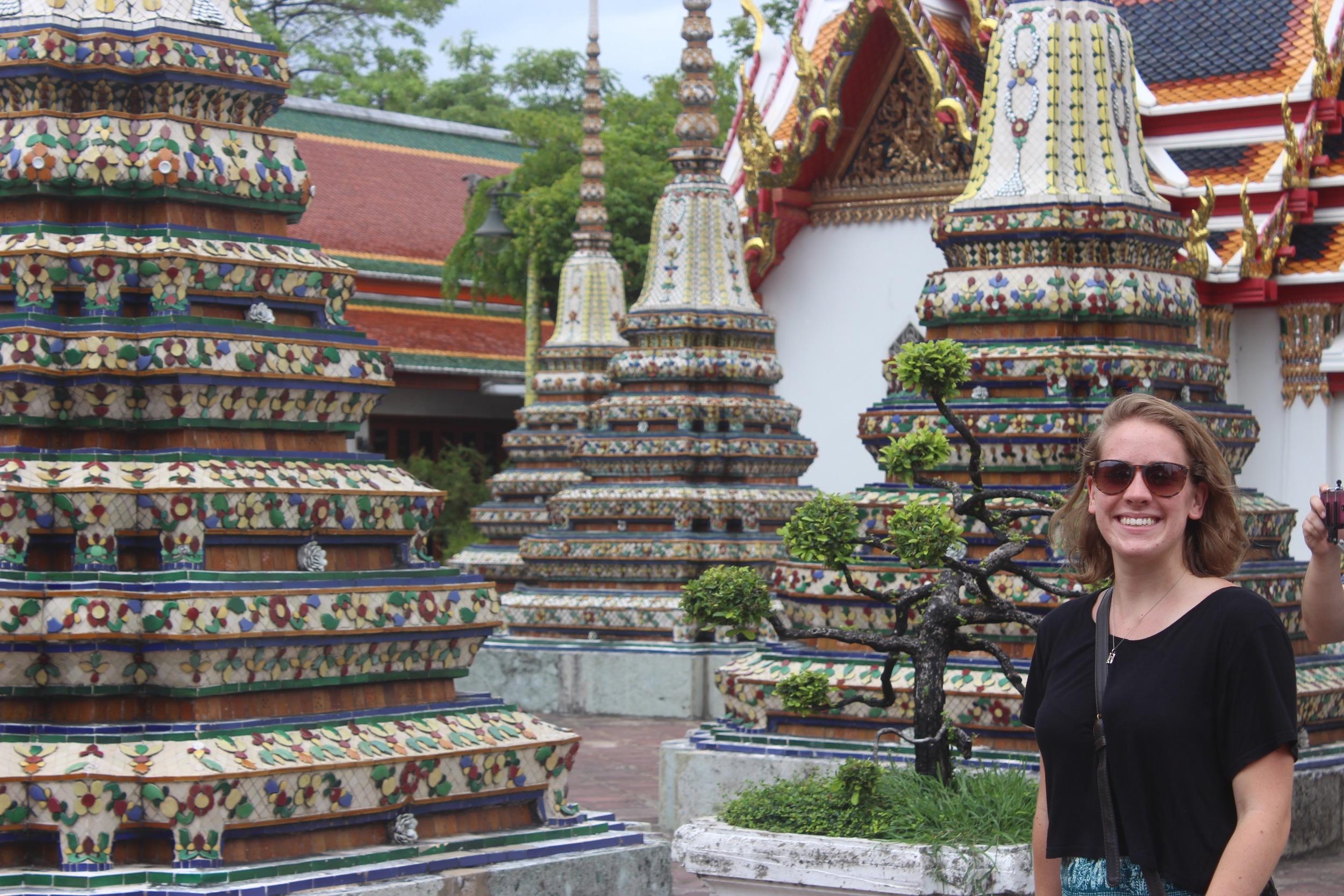 Wat pho temple in bangkok, Thailand                                                                                                                                                            photo by: Patrick springer