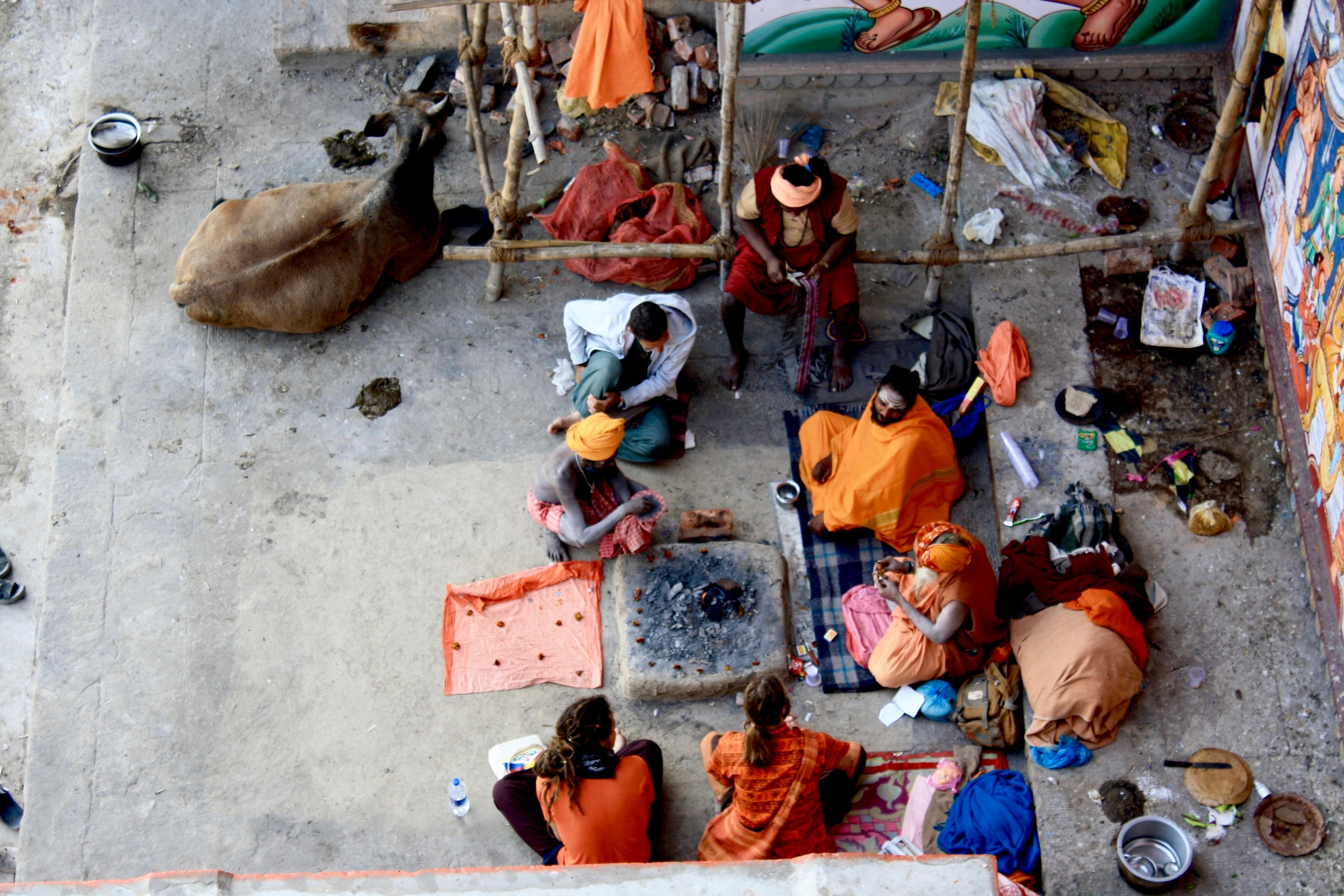 The Holy Men of the Ganges