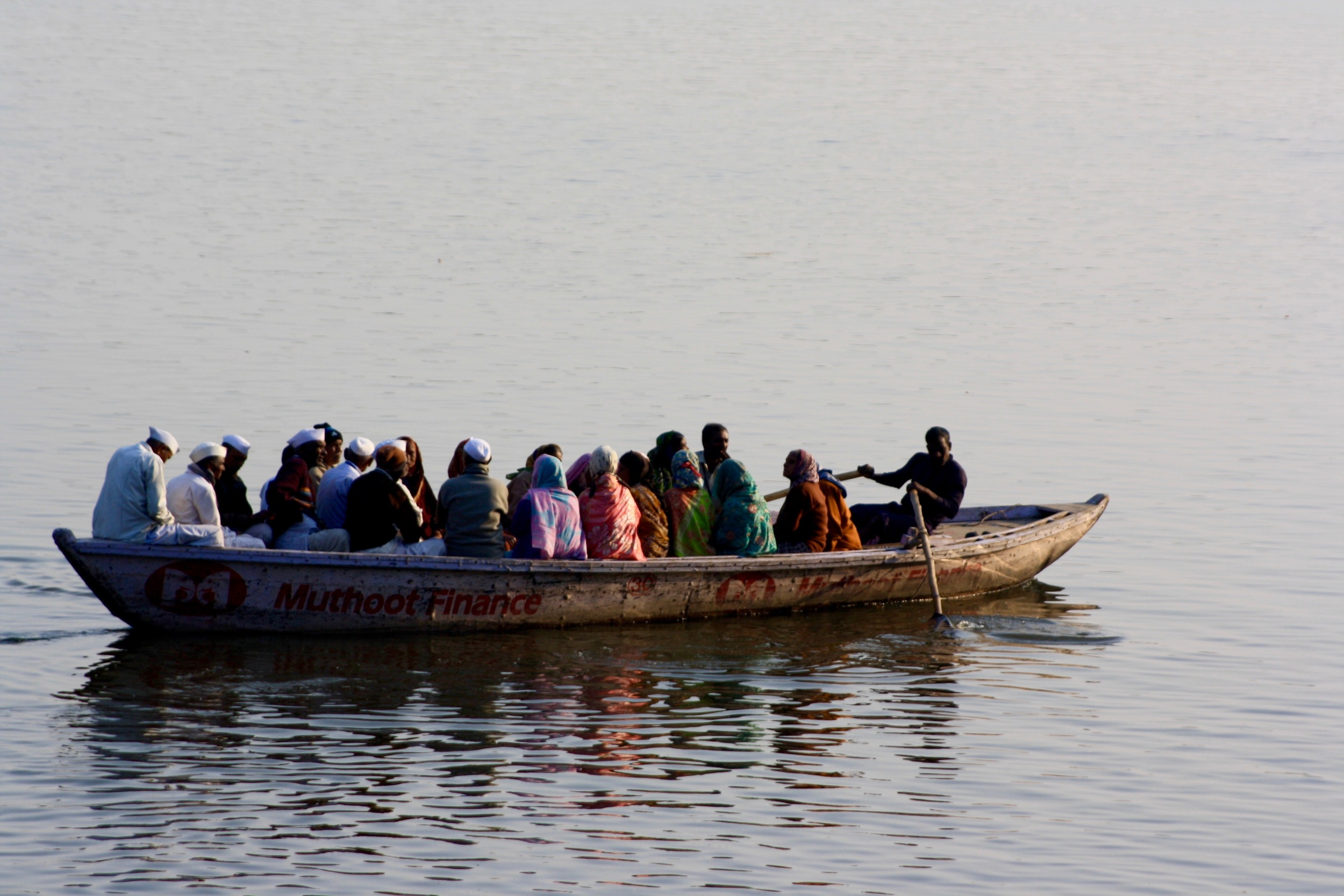 Ferrying across the Ganges