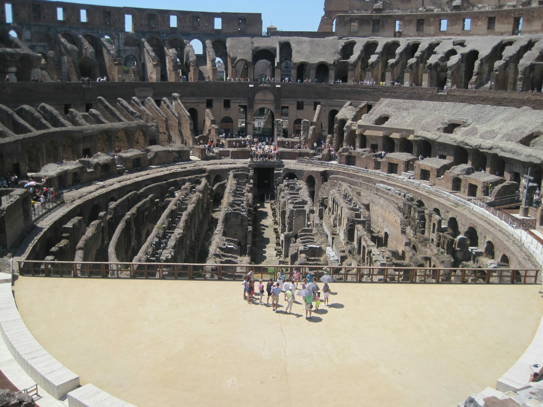 Colosseum from above