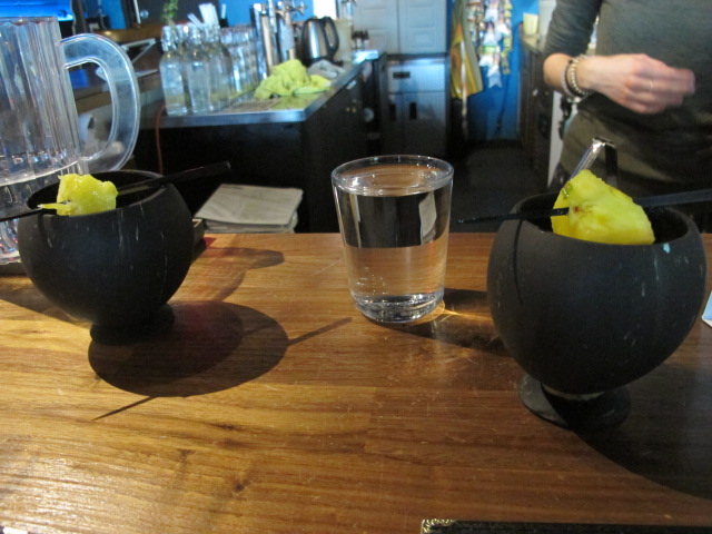 Two shots of Kava
