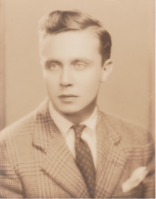The starry-eyed kid from South Orange - Norman Hilton, Princeton '41