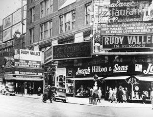 Broadway at 47th Street (Times Square) - ca. 1935