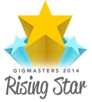 GigMasters - Rising Star Award - 2014