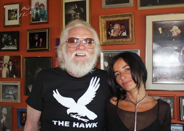 Ronnie Hawkins (The Hawk) & Eve Kinizo