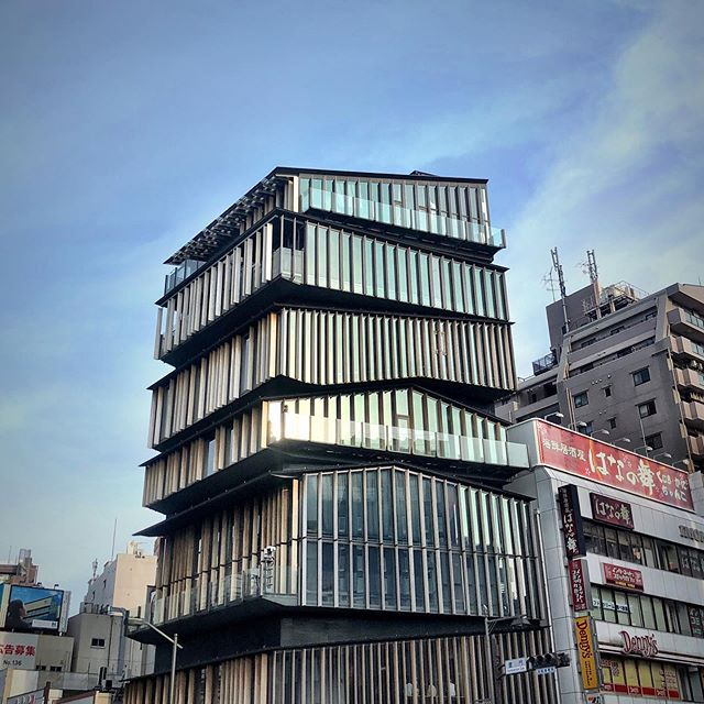 Futuristic architecture. Reminds me of the stacked RVs in Ready Player One. #eyecandy #architecture #tokyo