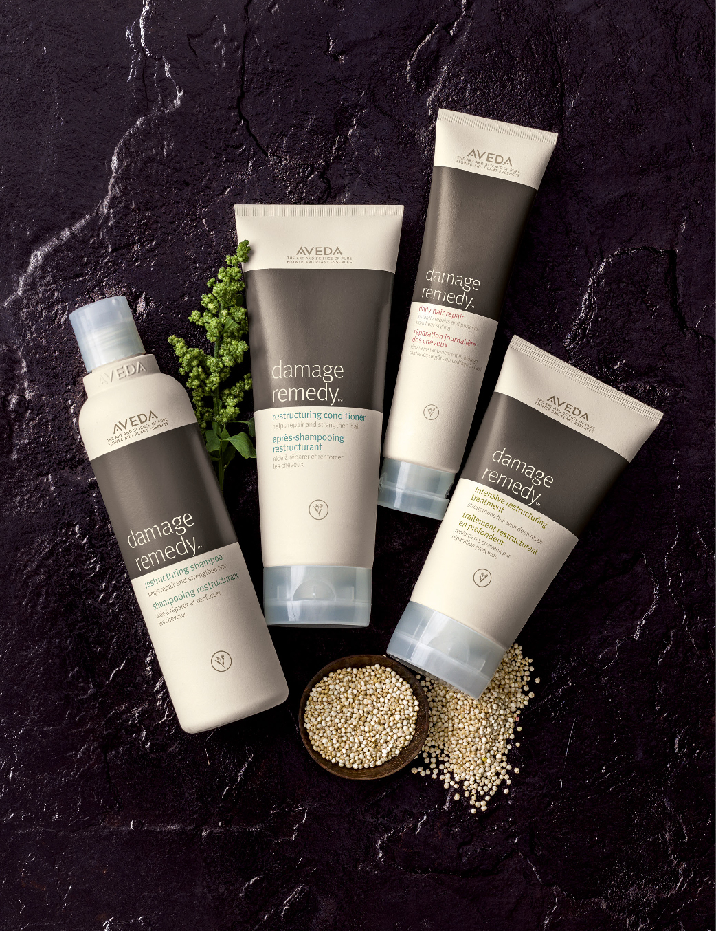 AVEDA Damage Remedy™ range...