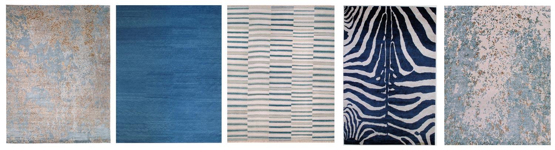 Capri                             Solid Wool                       Kilim Indigo                        Zebra Indigo                   Inverness