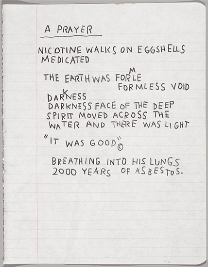 Images from  Basquiat: The Unknown Notebooks