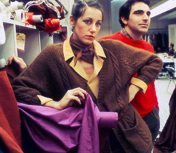 Donna Karan during her timeat Anne Klein