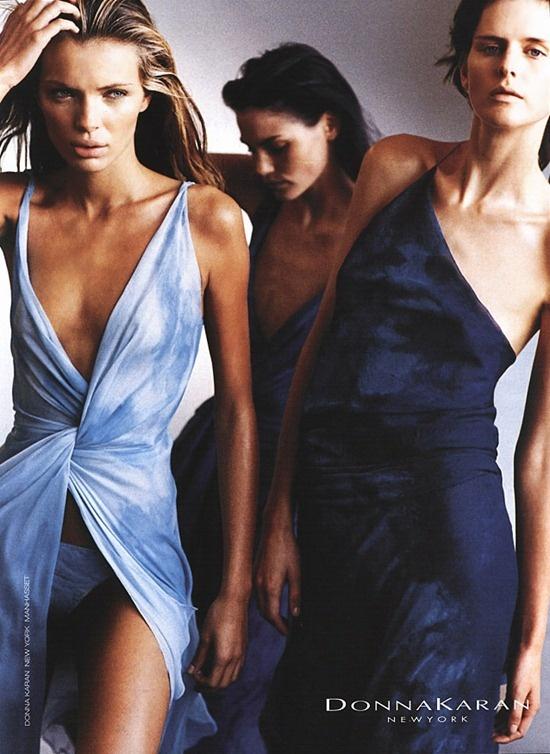 Donna Karan 2001 campaign