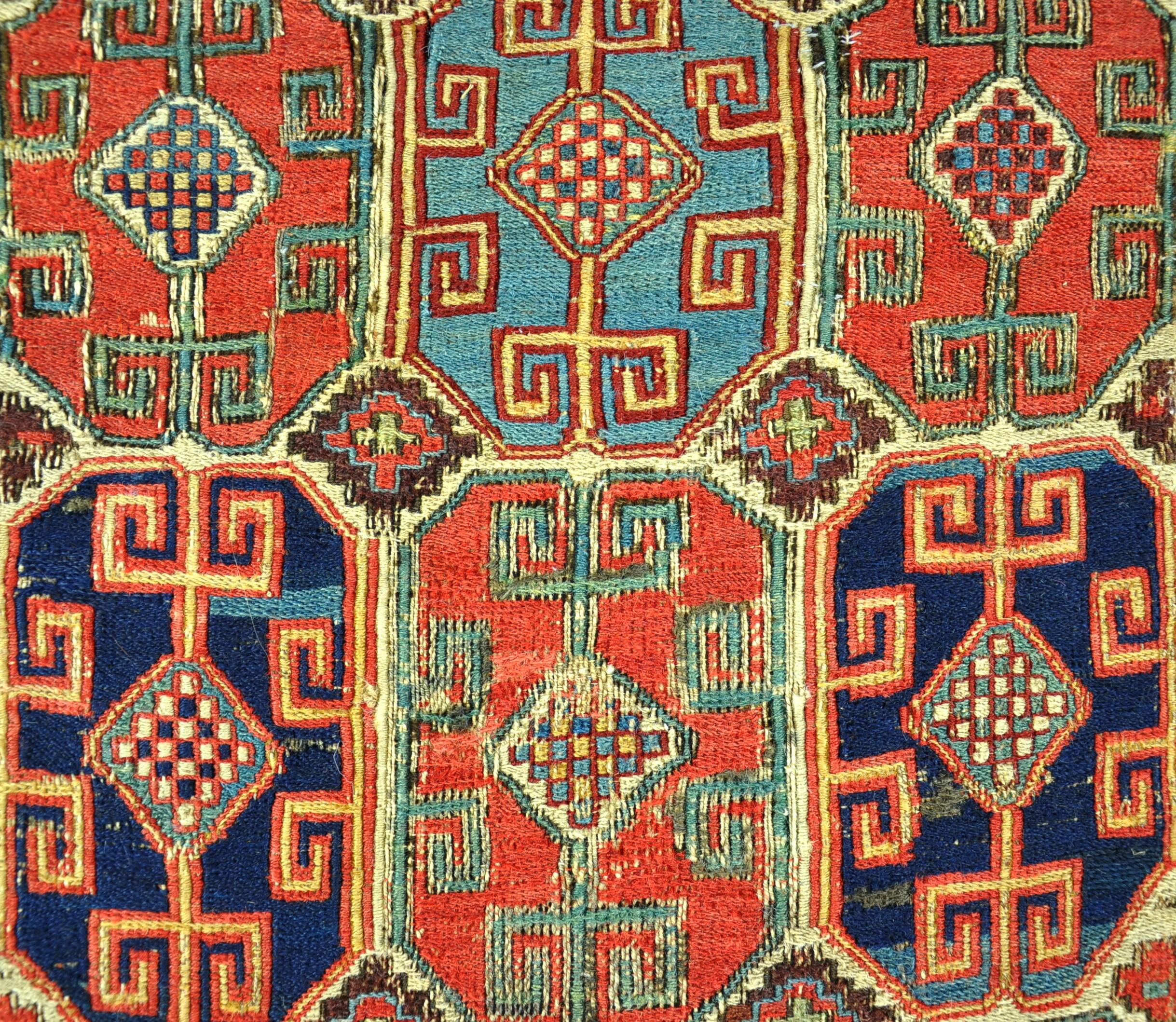 Shahsavan Soumak weave