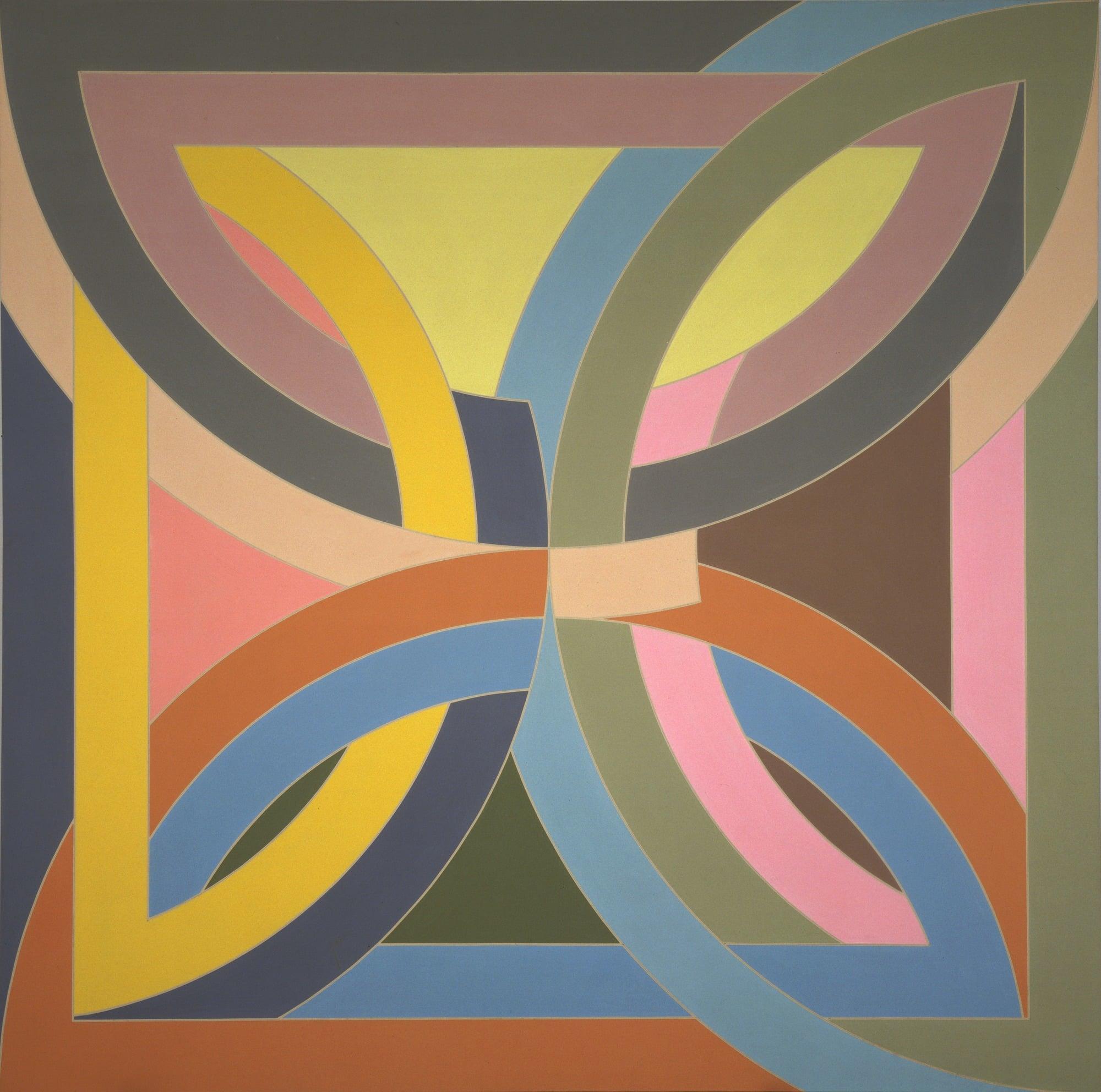 Frank Stella , Abra Variation I  1969
