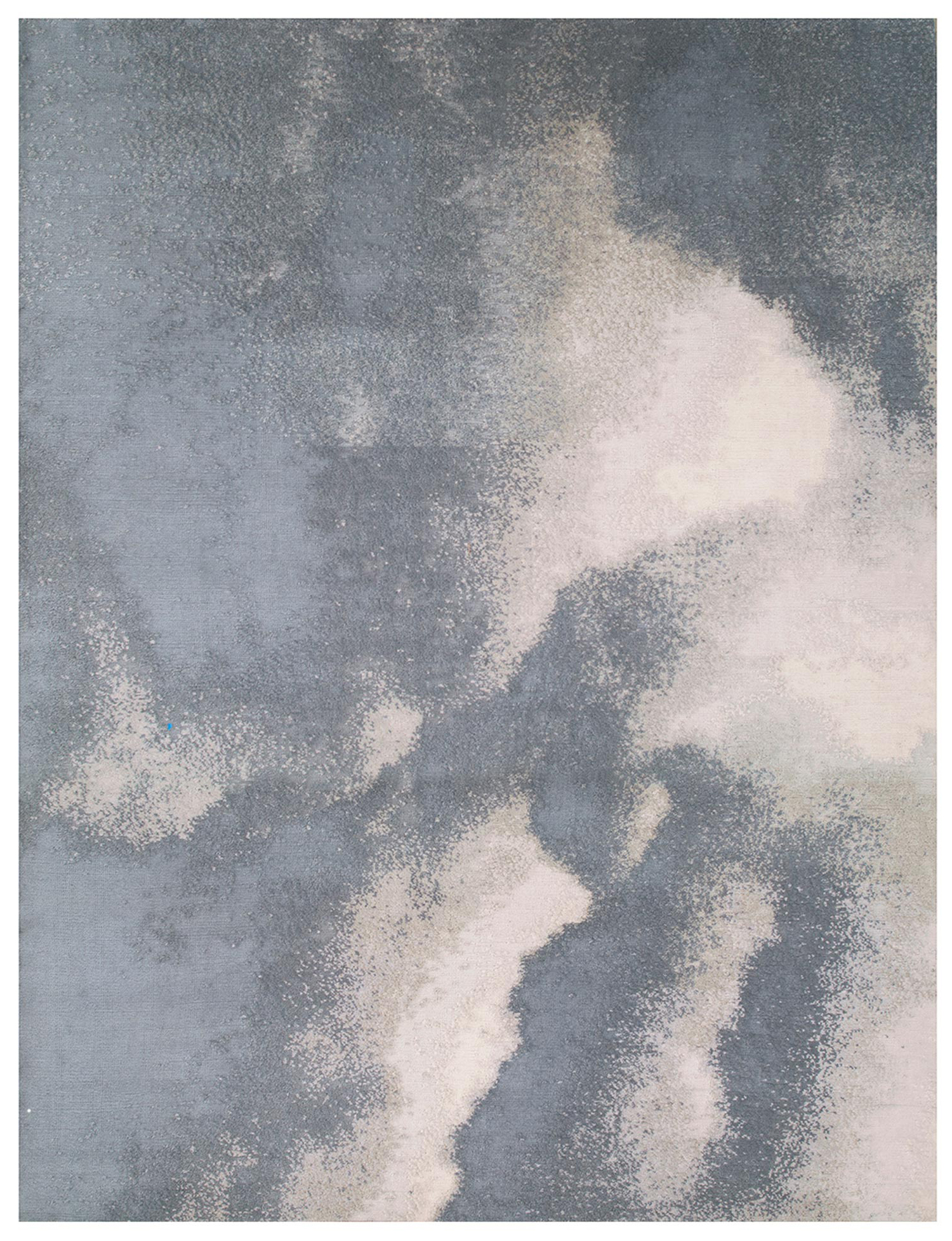 Storm Cloud, 10' x 14' 100% Mohair