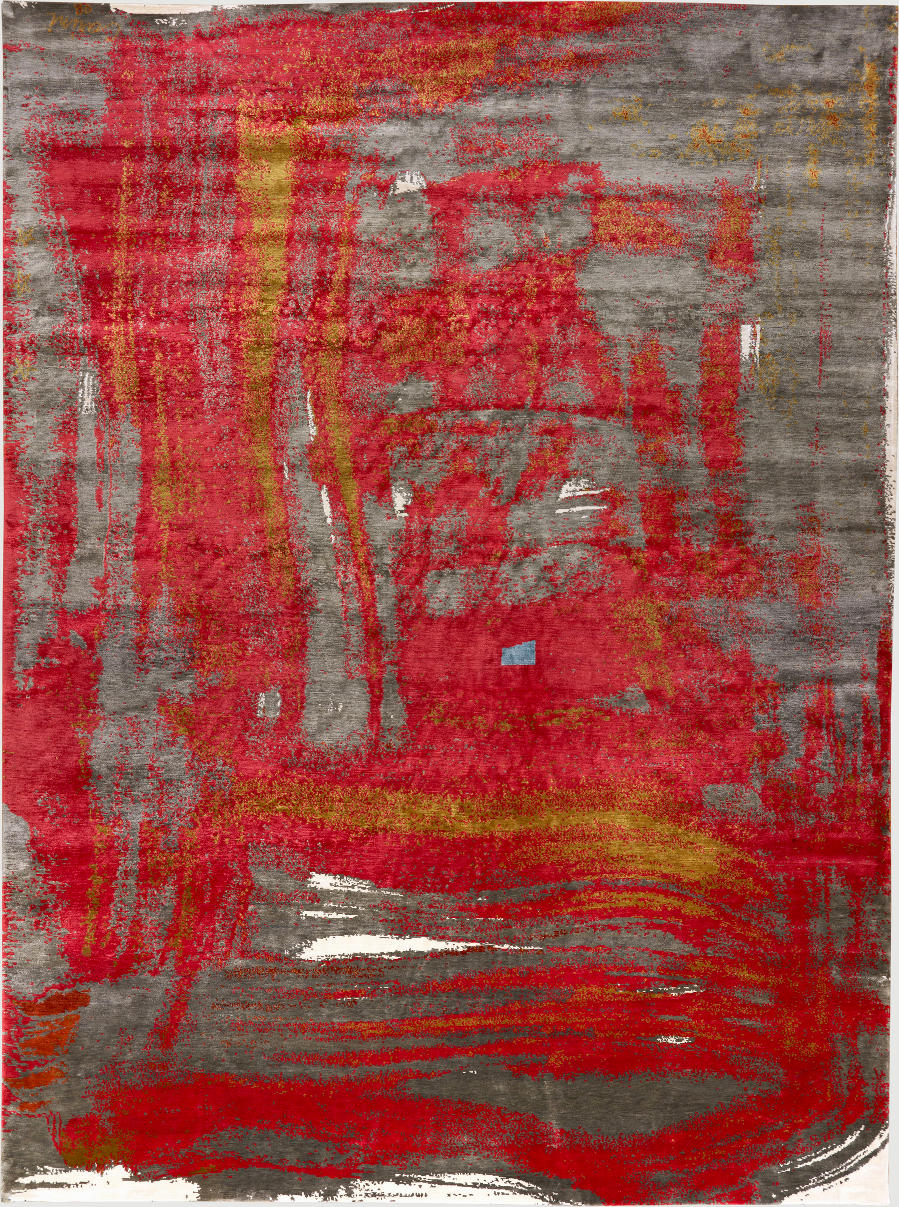 Brushstroke Red