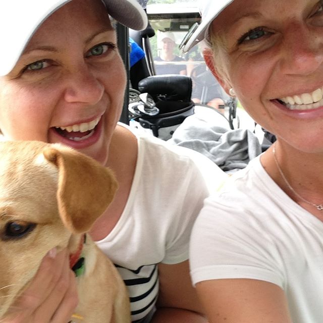 #SpringGolfChallengeDay1: Phone a friend.  Invite them out to play golf. Spend some quality time. In this photo, I'm having a belly-laugh with old friend @lollzanfriberg. She and I have shared our lives on and off the golf course for many years. What fun we have had - because we both played golf! I'm pretty sure we wouldn't have been friends if it wasn't for golf. And that would have been a sad, sad life!  So call your friend today. Make a date later this week to play or practice. Make it simple, just like friends do!  If you want, please share below who you got inspired to call! ⛳️ . . . . . . #golfislife #inspiration #selfdiscipline #golf⛳️ #golfisfun #nike #callaway #pga #lpga #golfaddict #golflife #motivation #inspire #womenathletes #athlete #golfstagram #whyilovethisgame #golflove #golfballs #womenwithdrive #fairways #golfstyle #golfday #golfclub #golfing #womenempowerment #ping