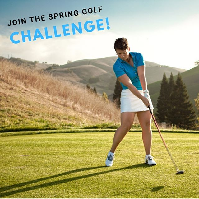 It's a week and a half  left to the Masters and one day left to the start of the ANA at Mission Hills. The golf season is almost here, and what better way to get going than to join the Spring Golf Challenge!  The Challenge starts on Monday April 1st and runs weekdays for 5 days. It ends on my birthday April 5th! Follow along to get your season started right! . . . . . .  #springgolfchallenge #ANA #golfchallenge #mastersgolf #golf #golflife #longdrive #golfstagram #golfswing #golfcourse #pga #golfing #golfer #golfchannel #golfworkout #golfdigest #lovegolf #golfinstruction #golfisfun #golfmagazine #golftip #lpga  #golflesson #golfcoaching #golfseason