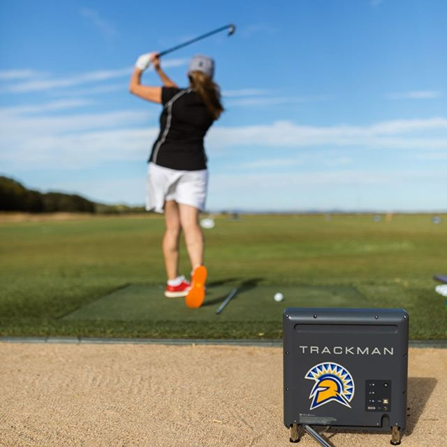 What the hell is a TrackMan? It's a device used by people like Rory McIIlroy and Tiger Woods (and you can benefit too!). Why do they use it? It's portable feedback on your game you can use on the range that's easy to set up and use. Now, the TrackMan doesn't offer solutions. It just gives you numbers. Many are confused about what the numbers mean, so I'd thought I'd give a bit of insight. Let start with the low-hanging fruit: -Total distance. You can even set it to calculate how far the ball would go depending on what type of range ball you are using. -Carry distance. Knowing how far your irons land is one key to hitting more greens. -Face Angle. Weather your club face is closed or open at impact is obviously major. Many amateur golfers can't feel if the club face is open or closed. With TrackMan feedback, most players get a feel for the club face much quicker than without it. Example for a right-handed golfer: If your face angle is -3, your clubface is closed. If it is open, say +3, then your clubface is open. If your club face is open or closed by more than 3 degrees each way, you are most likely not hitting your target. -Club path. This is a measurement of the club head's horizontal movement at the point of contact. This is also very useful to understand and relates to how much your ball will curve (or not). This is also commonly referred to as swinging left/right or coming into the ball inside out/outside in.  Ok, that's already a lot. Next I'll cover a few more dynamics and why  I use a TrackMan! . . . . . Photo cred: @jakob_lr  #trackmangolf #tigerwoods #rory #fairwaysandgreens #GIRs #golfislife #knowyourgame #womenwithdrive #lpga #pga #golfprolife #golflessonssantarosa #golflessonsmarin
