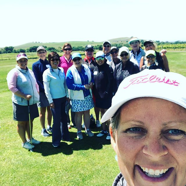 "Great times at the ""Drive, Chip & Putt for Precision"" Golf School I taught with @jessrquayle this weekend!! @lpgateachers #womensgolf #lpgawomensnetwork #driveforshow #puttfordough #womenwithdrive #womensgolf #womensgolfschools"