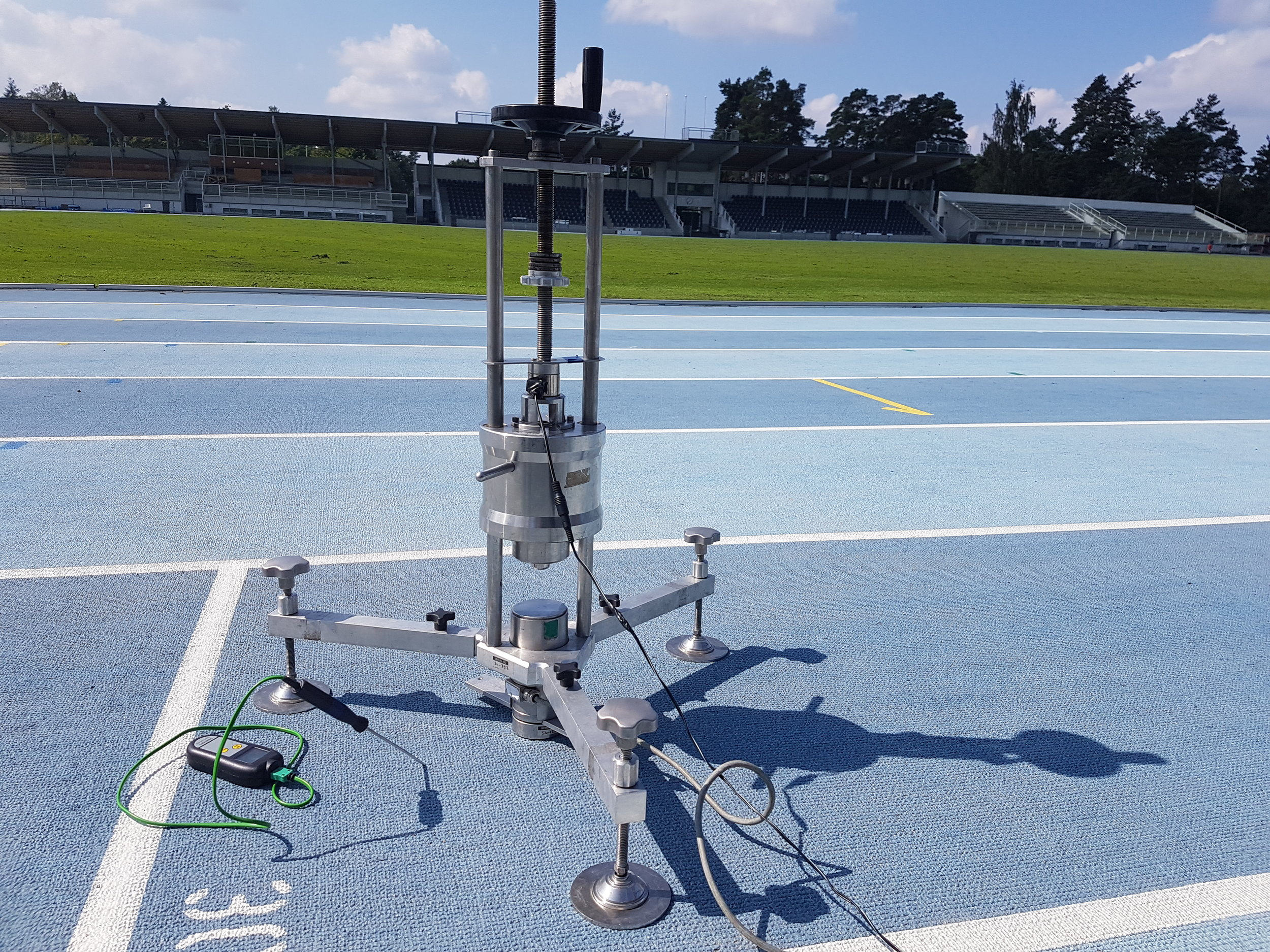 IAAF TRACK CERTIFICATION