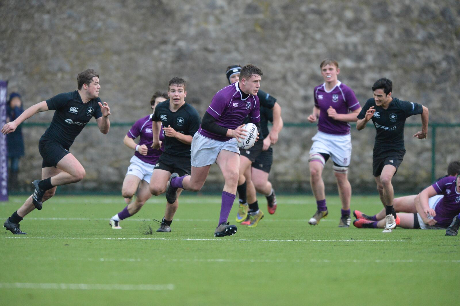 Campbell College V Clongowes Seniors_First match on new pitch.jpg