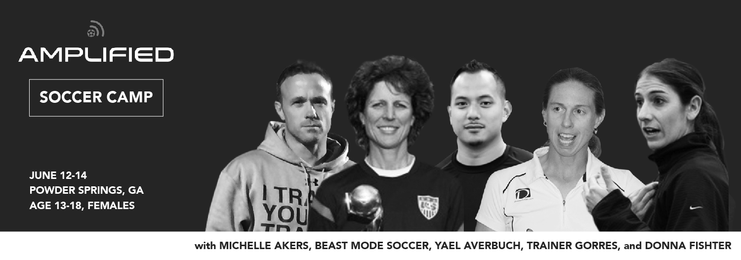Appalachian State Head Coach, Sarah Strickland, will be on staff at Amplified Soccer Camp with Michelle Akers! Register today!