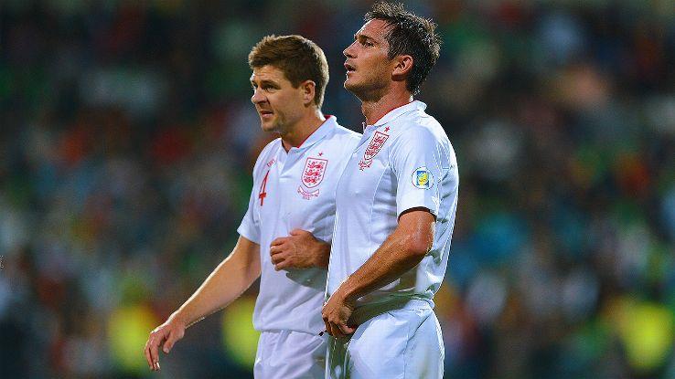 Photo Credit: The Telegraph  Steven Gerrard and Frank Lampard