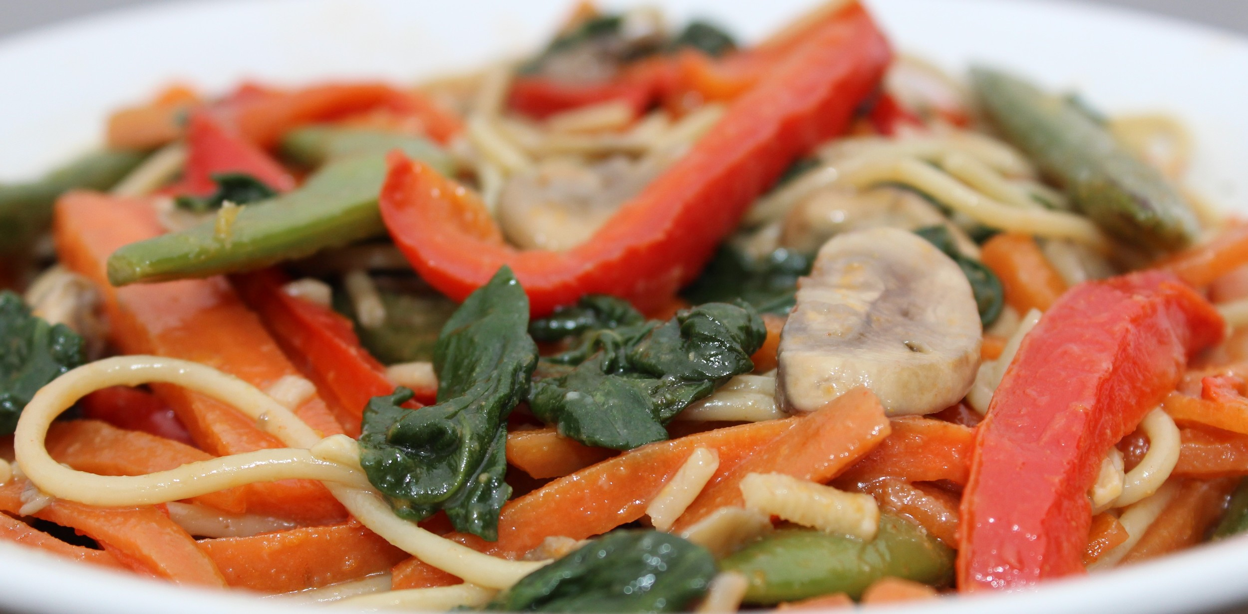 spicy lo mein