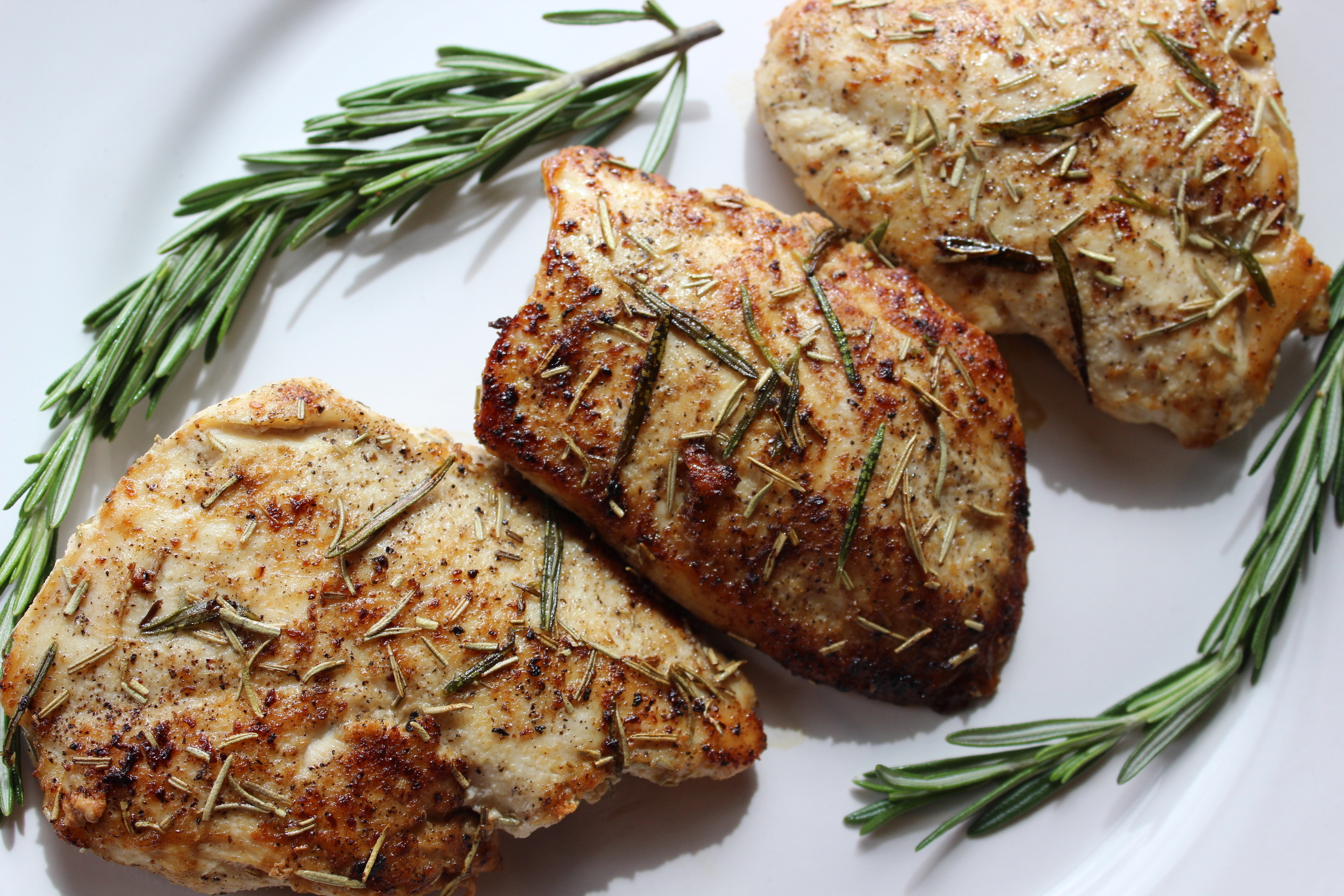 Quick Skillet Chicken and Rosemary