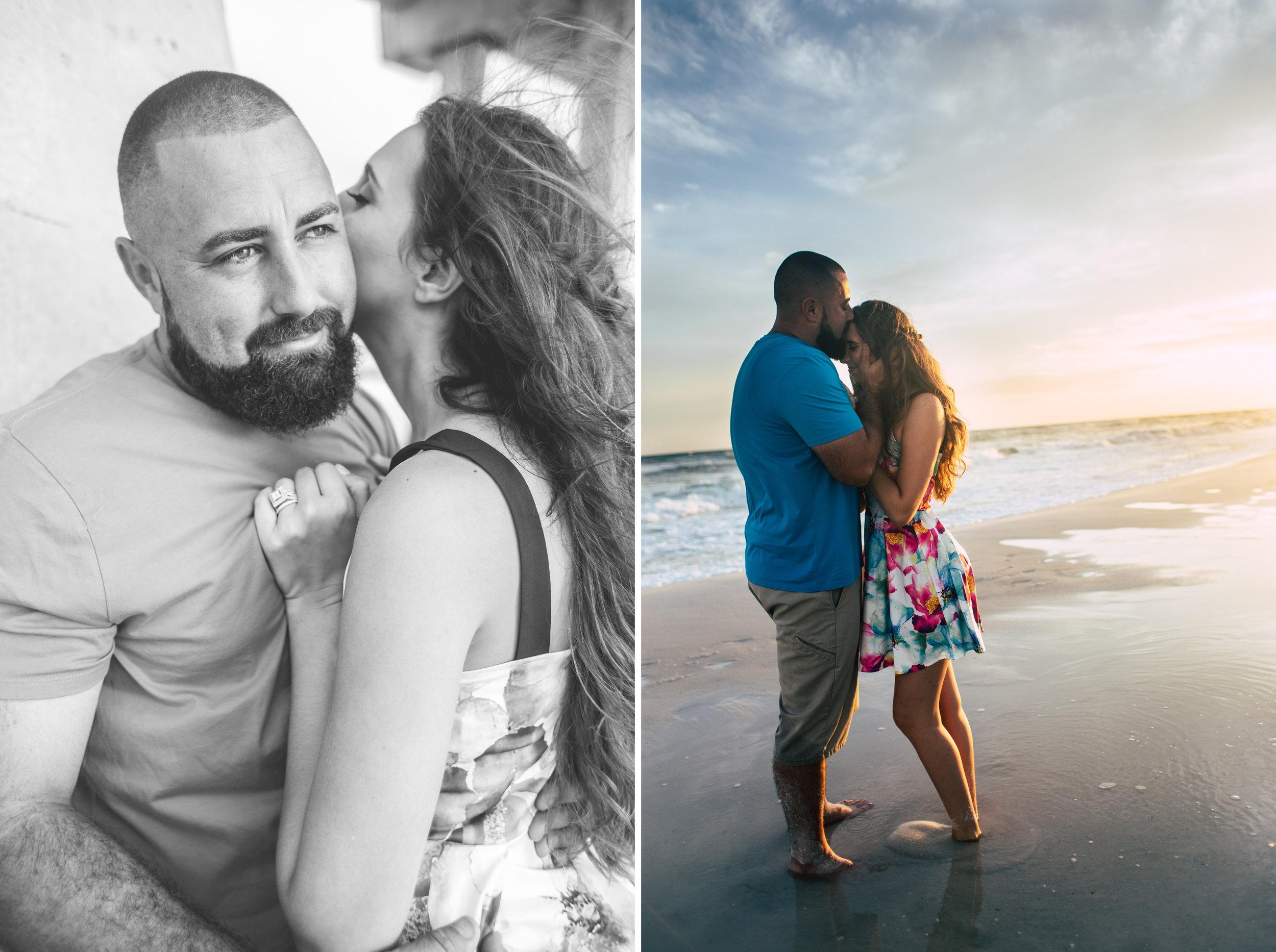 engagement photo navarre beach pensacola