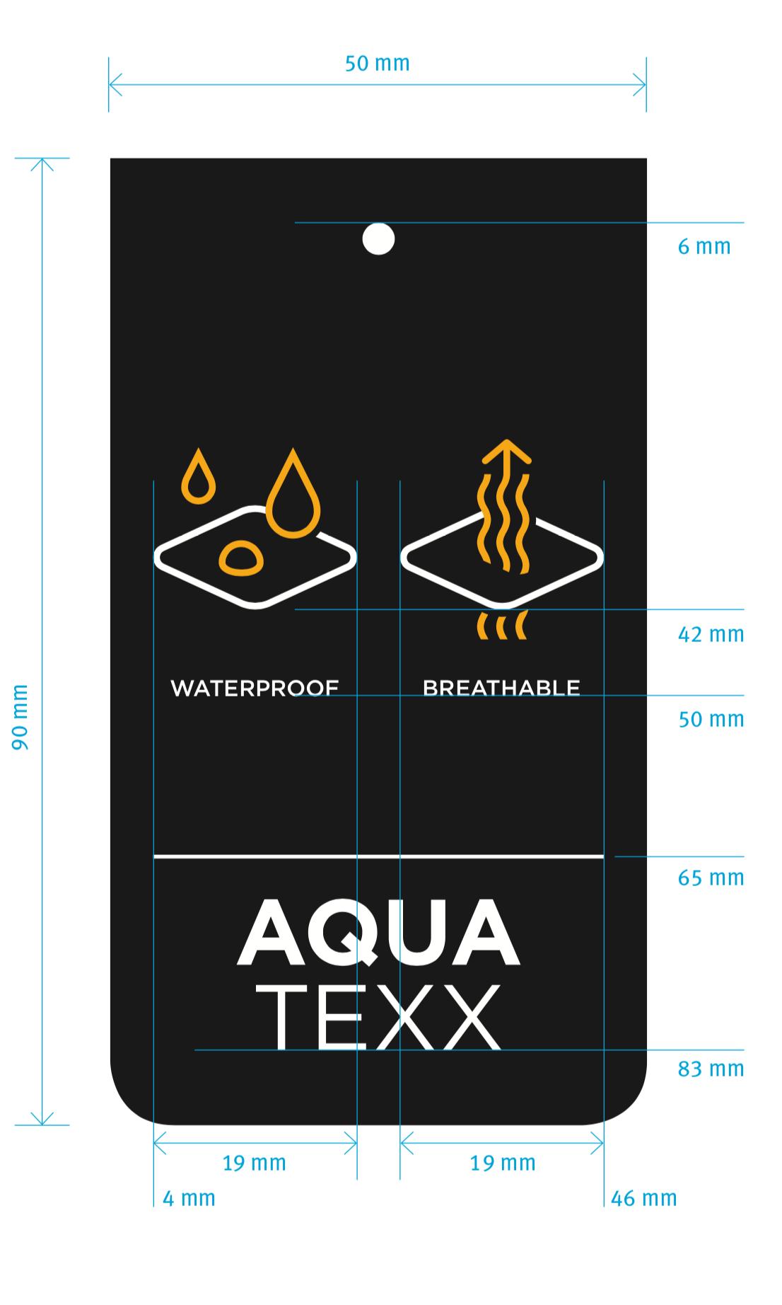 KW29  | Für SportXX gestalten wir im Moment eine umfangreiche Toolbox zur Kommunikation besonderer Funktionen von Textilien. Damit Sie immer schön trocken bleiben...