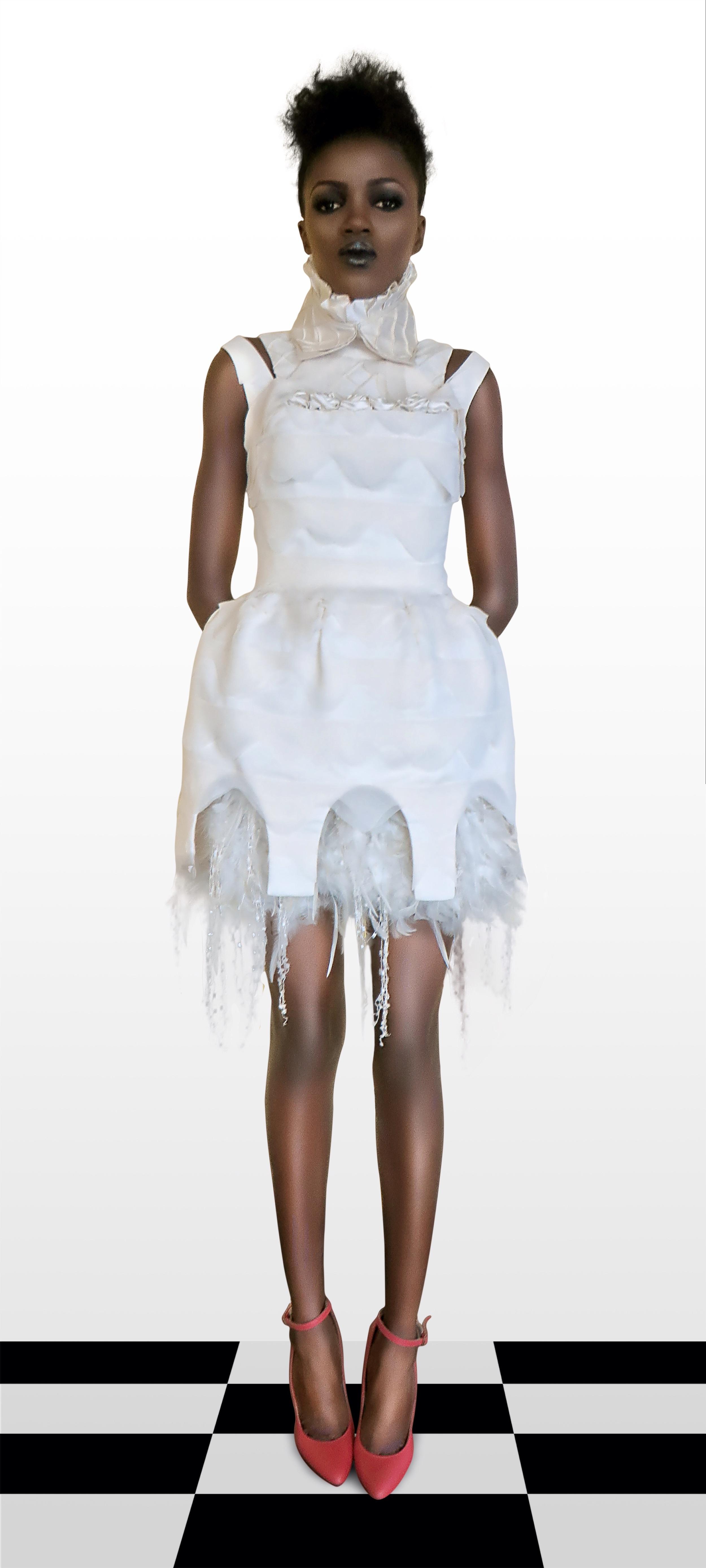 Dress, Photography & Styling: Eyola   Models: Abisola, Precious, Deborah   Hair & Makeup Stylist: Omalicha makeover