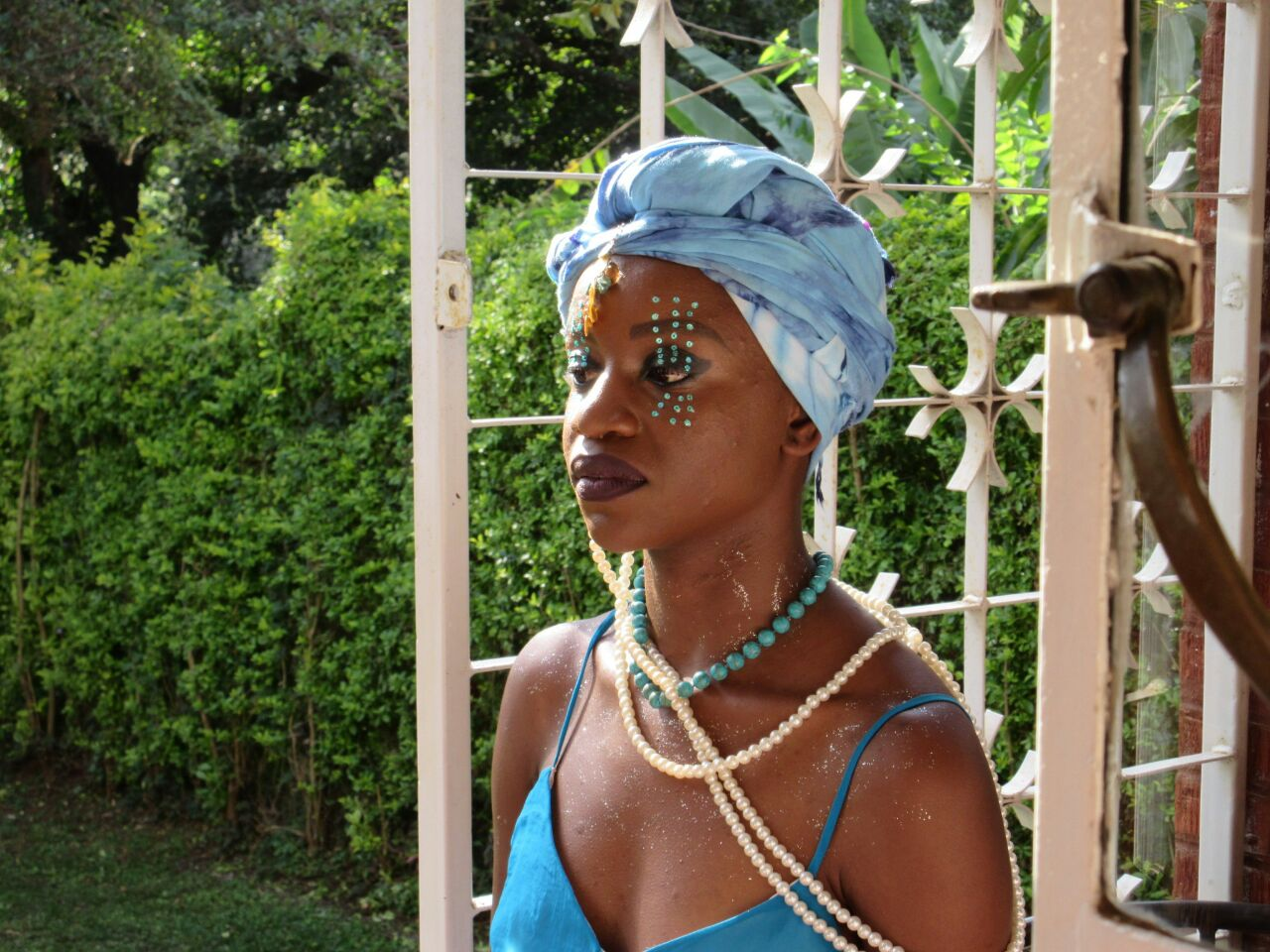 Look 2: Make-up for the early stages of Yemaya's rising