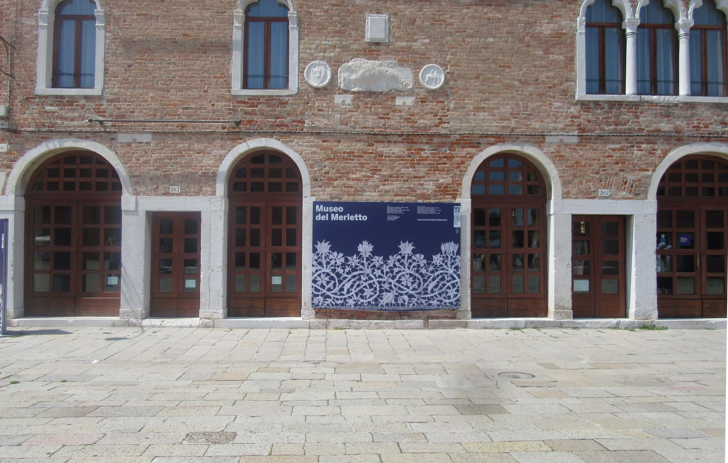 The Lace Museum at Burano Island