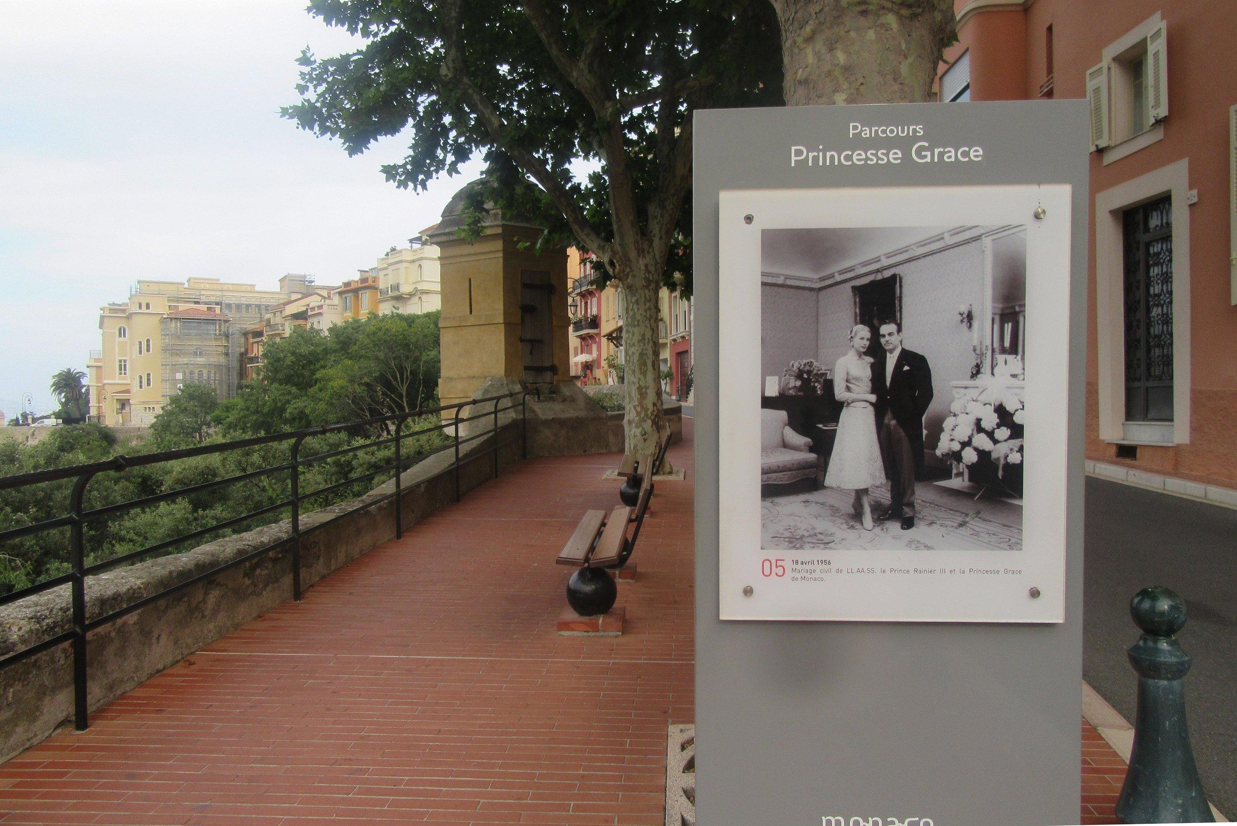 Parcours Princesse Grace Monte Carlo