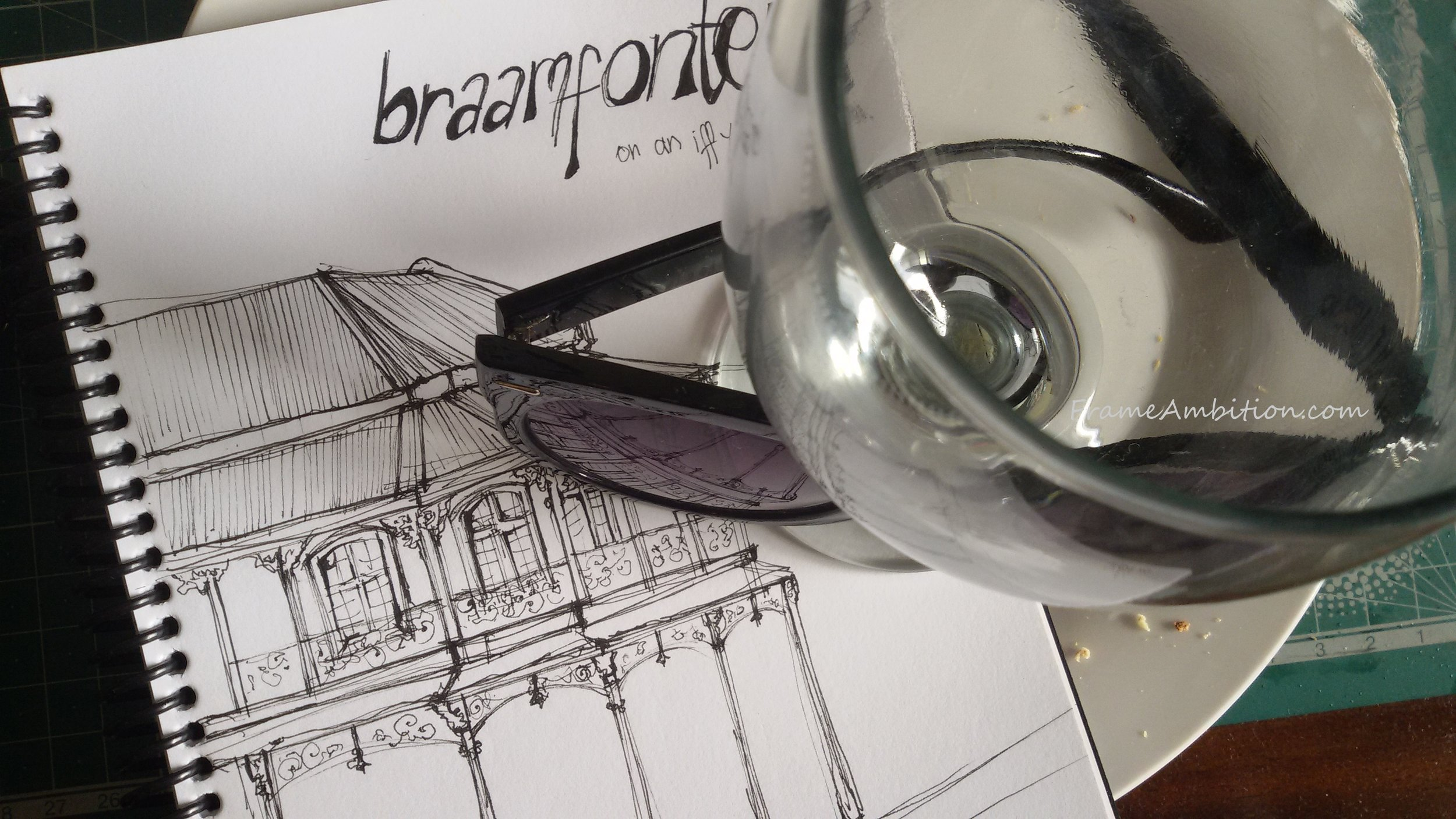 A lunchtime sketch of Kitchener's, Braamfontein