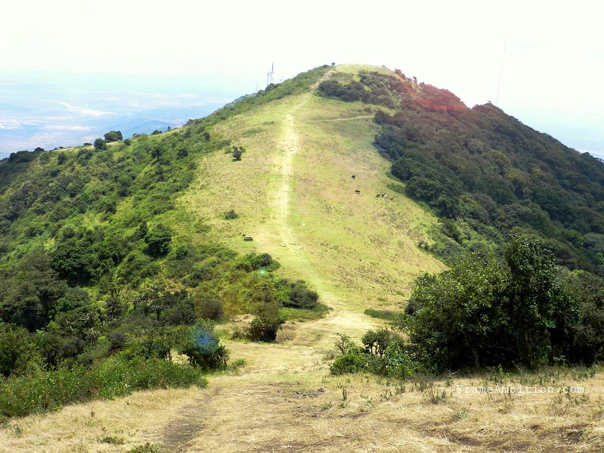 Ngong Hills hike path