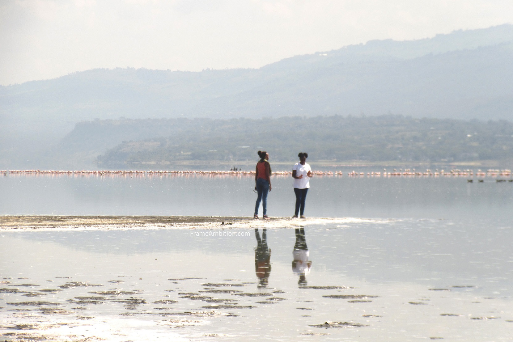lake elementaita reflection