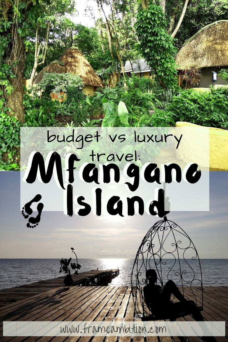 Budget travel vs Luxury Travel to Mfangano Island - Pin this for later!