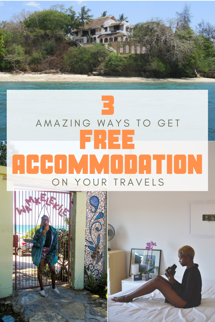Top 3 FREE ACCOMMODATION Hacks: Cheap Travel Tips — frame ambition