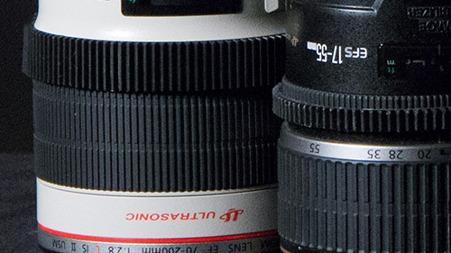All lenses have gear-teeth installed for using with a follow focus.