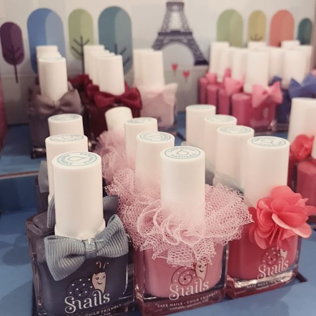 Restocked with amazing Snails nail polish from @safenbeautiful. Non-toxic, odorless, washes off with soap and water. Actually safe polish for kids. Designed in France, produced in Greece. ❤️💕💅🏽 . . . #pdx #portlandoregon #safenailpolish #kidsnailpolish #hawthornepdx #hawthorneblvd #pdxmom #pdxkids #snailsnailpolish