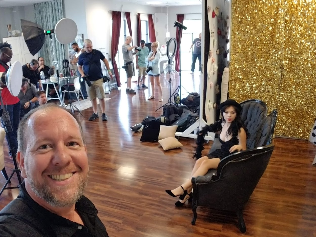 Behind the scenes with our renter  Brian L Giddings Photography !