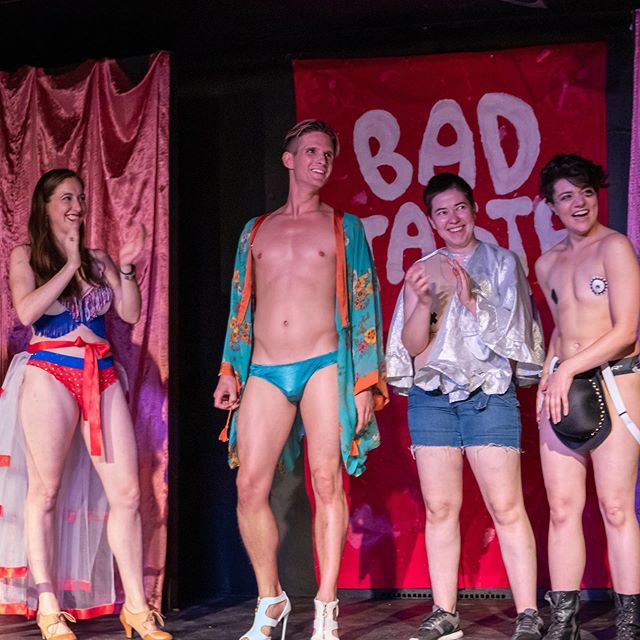 Bad Taste's Sept. show was one that we'll NVR 4GET! Thanks to all the frands who came out & made it our most successful @badtastechicago yet! ❤️🌈❤️ Also come to HOMERSEXUAL 2nite; it's nearly sold-out! 📷: @twobranchesphotos