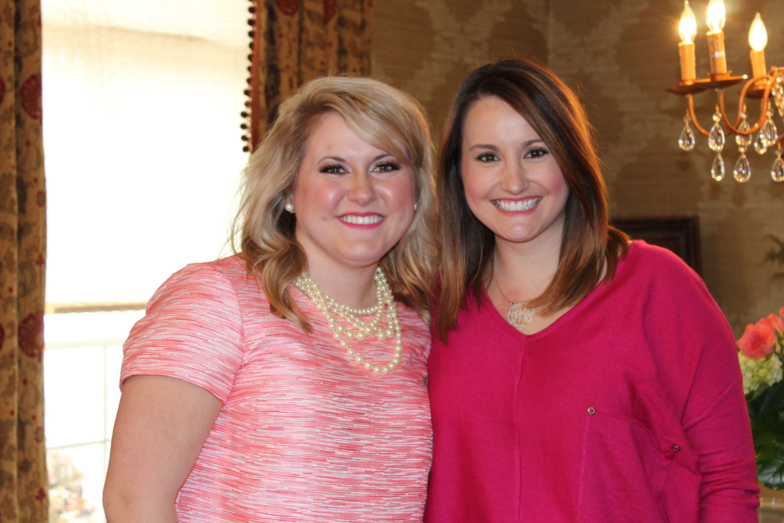 My bestie and Matron of Honor, Hope, made the trip up from MS! So good to see her!