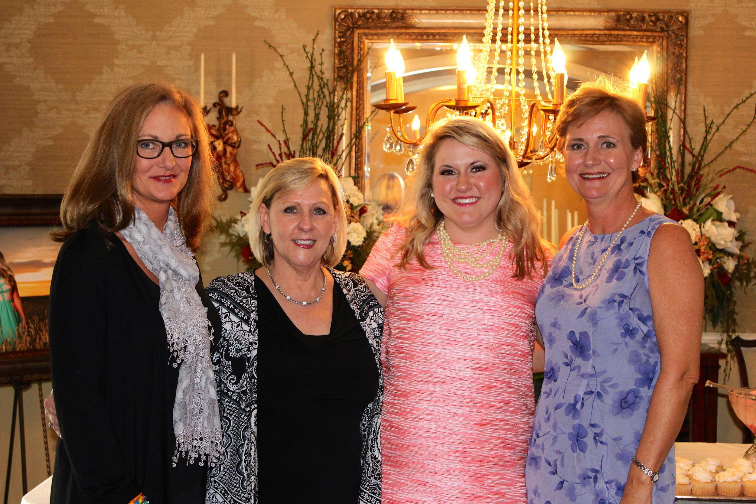 My Aunt Gaye, Ms. Debbie, myself, and my Mama!